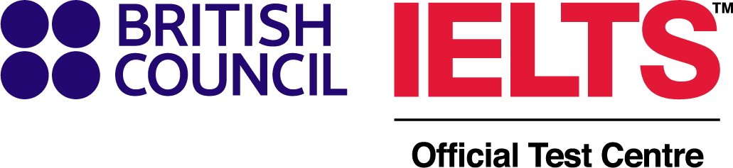 Swiss Exams and the British Council in a great partnerhip for IELTS in Switzerland. Logo Britsh Council